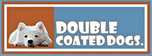 Double Coat Dogs Logo