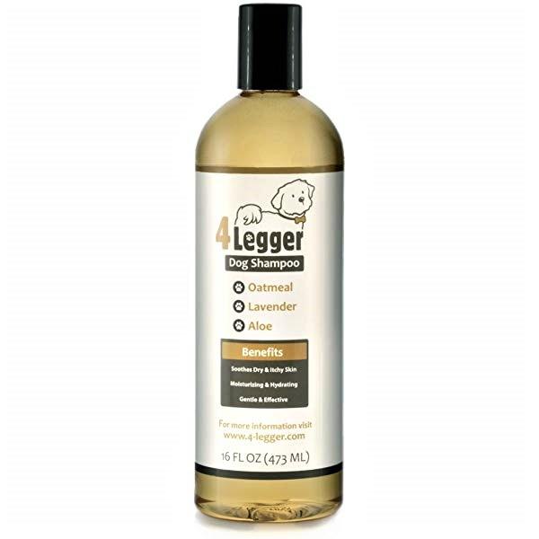 4-Legger Organic, Hypo-Allergenic, Lemongrass & Aloe Dog Shampoo