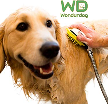 Wondurdog Quality at Home Dog Wash Kit for Shower